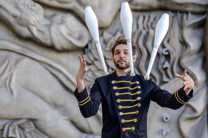 Manoel Mathis jonglage